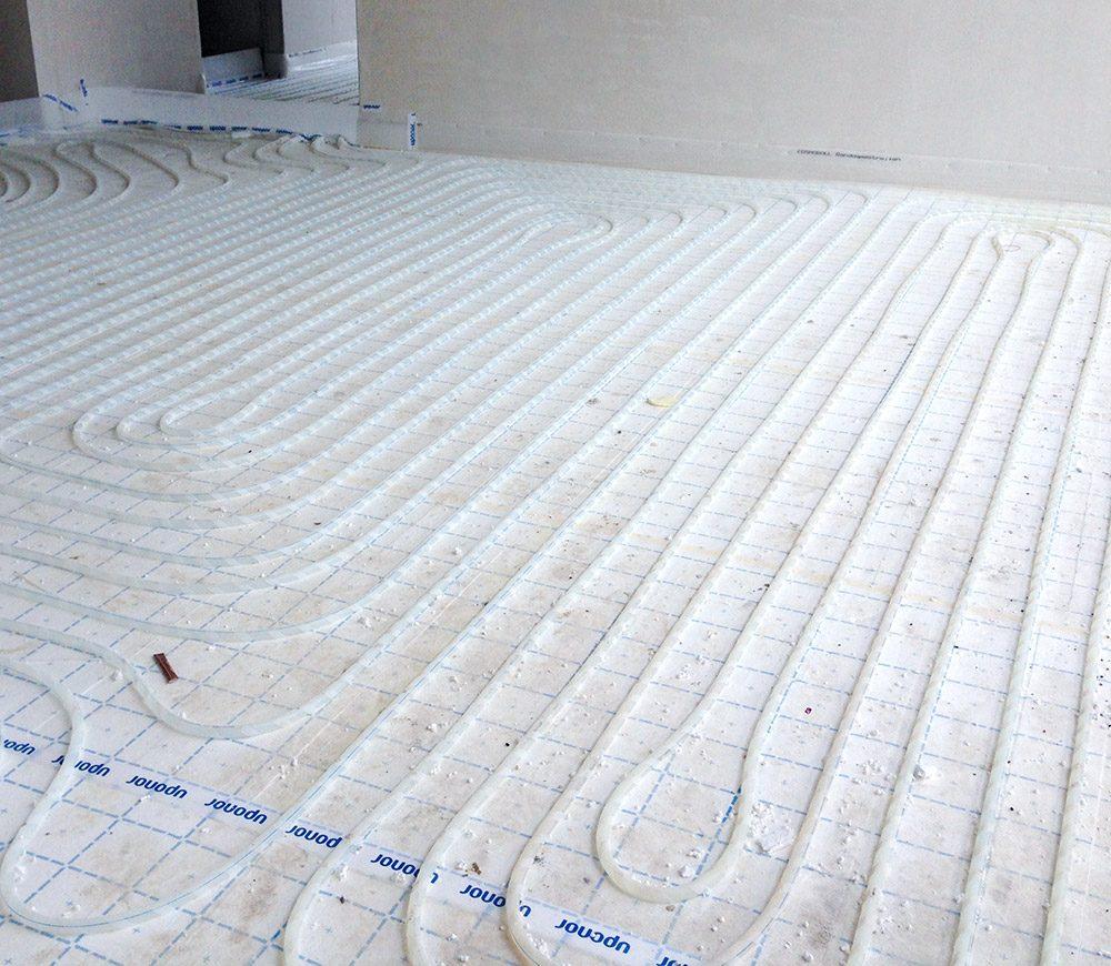 Fußbodenheizung klassich gr. Fläche